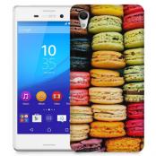 Skal till Sony Xperia M4 Aqua - Macarons