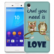 Skal till Sony Xperia M4 Aqua - Owl you need is love