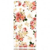 Flexicase Skal till Sony Xperia M5 - Rosa Blommor