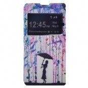 Plånboksfodral till Sony Xperia M5 - Colorful Rain