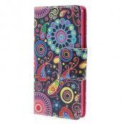 Plånboksfodral till Sony Xperia M5 - JellyFish