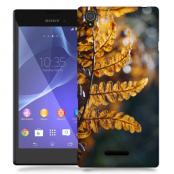 Skal till Sony Xperia T3 - Höstlöv