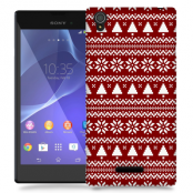 Skal till Sony Xperia T3 - Juldekor - Granar
