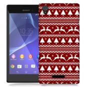 Skal till Sony Xperia T3 - Juldekor - Renar