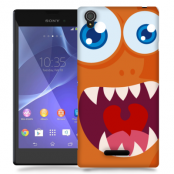 Skal till Sony Xperia T3 - Orange monster