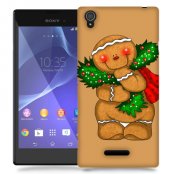 Skal till Sony Xperia T3 - Pepparkaksgubbe
