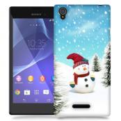 Skal till Sony Xperia T3 - Snögubbe