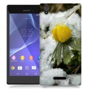 Skal till Sony Xperia T3 - Vinterblomma