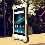 LOVE MEI MK2 Hybrid Skal till Sony Xperia Z3 Plus - Guld