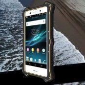 LOVE MEI MK2 Hybrid Skal till Sony Xperia Z3 Plus - Svart