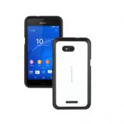 Roxfit Gel Shell Skal till Sony Xperia E4g - Vit