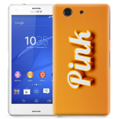 Skal till Sony Xperia Z3 Compact - Pink - Orange