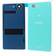 Sony Xperia Z3 Compact Baksida original med Tejp - Grön
