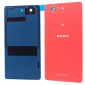 Sony Xperia Z3 Compact Baksida original med tejp - Orange