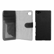 iDeal Wallet+ - Plånboksfodral för Sony Xperia Z5 Compact, svart