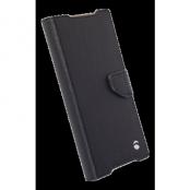 Krusell Borås Foliowallet till Sony Xperia Z5 Compact - Svart