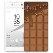 Skal till Sony Xperia Z5 Compact - Choklad
