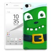 Skal till Sony Xperia Z5 Compact - Grönt slajm-monster