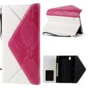 Envelop Plånboksfodral till Sony Xperia Z5 Premium - Vit/Rosa