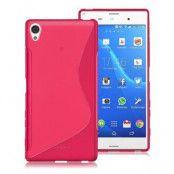 S-Line Mobilskal till Sony Xperia Z5 Premium - Magenta