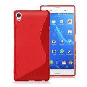 S-Line Mobilskal till Sony Xperia Z5 Premium - Röd