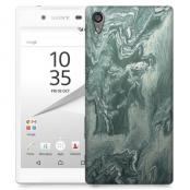 Skal till Sony Xperia Z5 Premium - Marble - Grön
