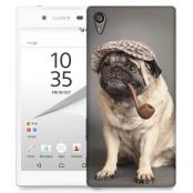 Skal till Sony Xperia Z5 Premium - Mops med keps