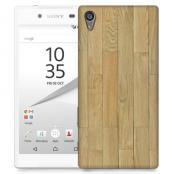 Skal till Sony Xperia Z5 Premium - Trägolv