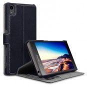 Slimmat Plånboksfodral till Sony Xperia Z5 Premium - Svart