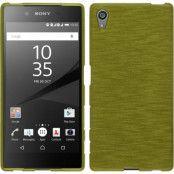 Brushed Flexicase Skal till Sony Xperia Z5 - Grön