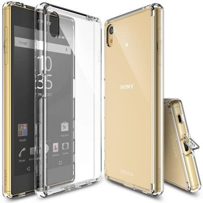 Ringke Fusion Shock Absorption Skal till Sony Xperia Z5 - Clear