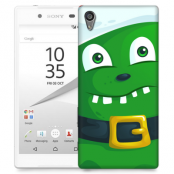 Skal till Sony Xperia Z5 - Grönt slajm-monster