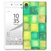 Skal till Sony Xperia Z5 - Målning - Rutor