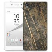Skal till Sony Xperia Z5 - Marble - Brun