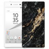 Skal till Sony Xperia Z5 - Marble - Svart