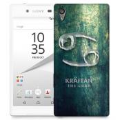 Skal till Sony Xperia Z5 - Stjärntecken - Kräftan