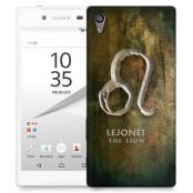 Skal till Sony Xperia Z5 - Stjärntecken - Lejonet