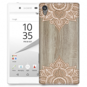 Skal till Sony Xperia Z5 - Trä - Mandala