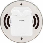 Denver True Wireless Bluetooth Headset (inkl. Qi-platta)