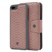 Marvêlle N°301 Plånboksfodral iPhone 7Plus/8Plus - ASH PINK REPTILE