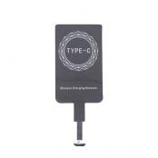 Qi Adapter för trådlös laddning (USB-C) - Svart
